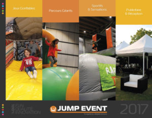 catalogue location vente gonflables jump event